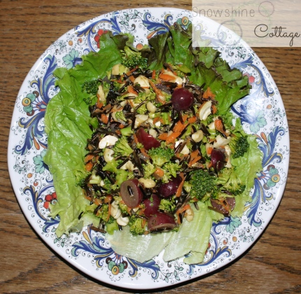 broccoli wildrice salad